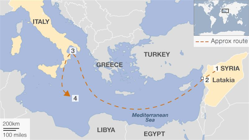 Τοξική απειλή ανοικτά της Κρήτης