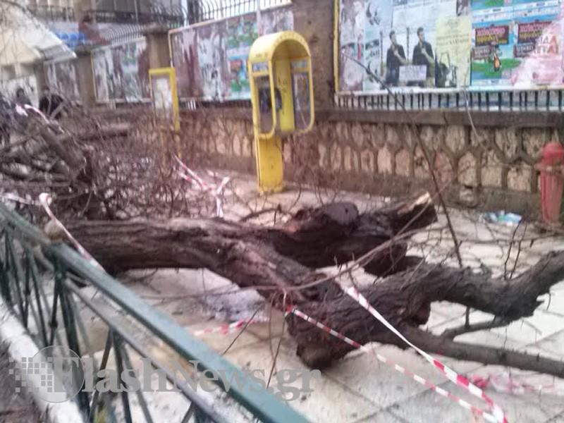 Ζημιές στα Χανιά από την κακοκαιρία - Πόσο θα κρατήσει η κακοκαιρία (φωτο)