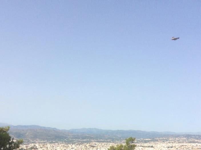 UFO(;) εμφανίστηκε στα Χανιά -Η φωτογραφία που κάνει το γύρο του διαδικτύου