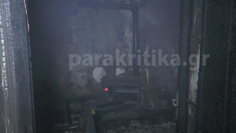 Χανιά: Ενώ υποδέχονταν το νέο έτος το σπίτι τους τυλίχτηκε στις φλόγες