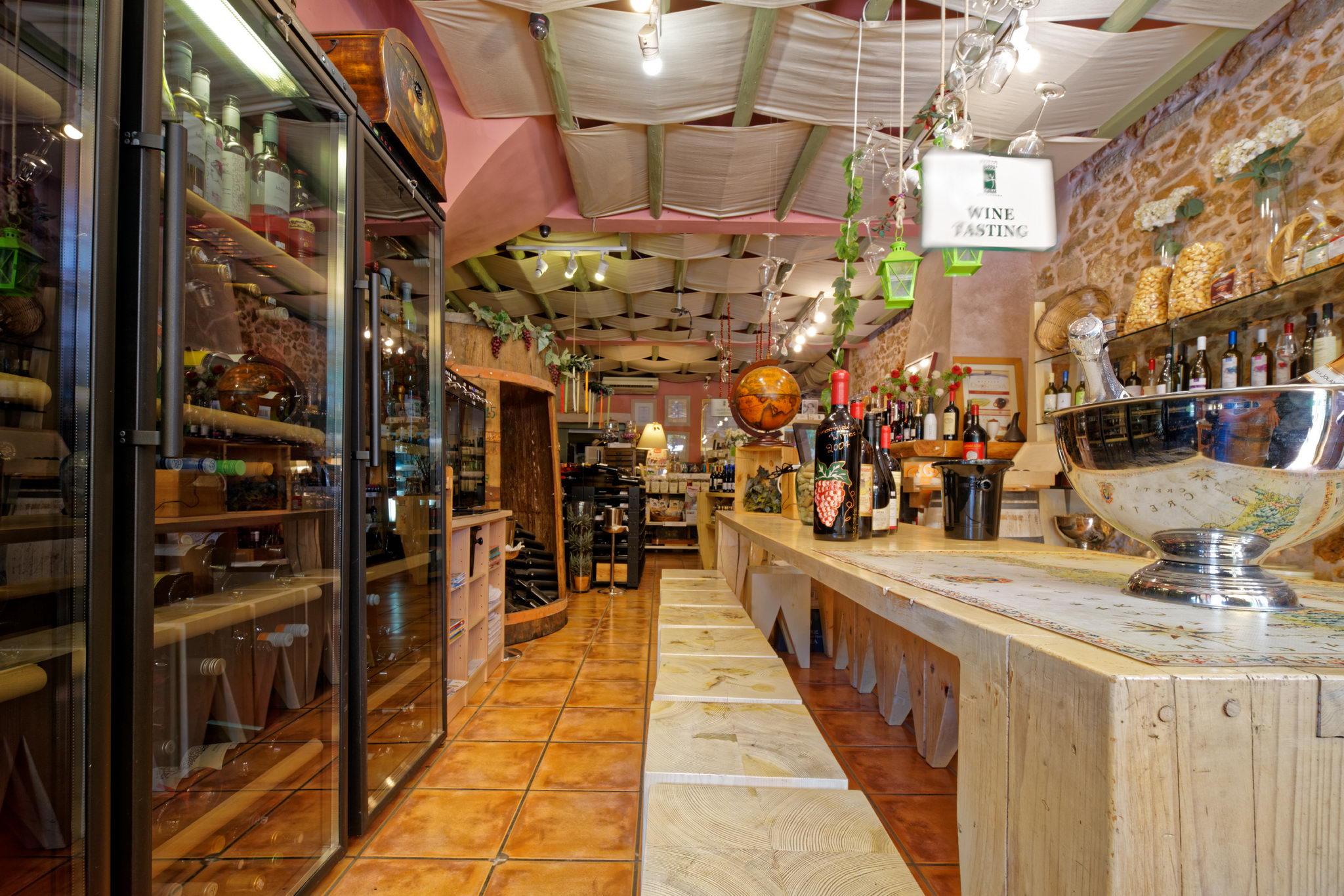 Μηδέν άγαν Πρότυπη κάβα κρασιού - Delicatessen στα Χανιά
