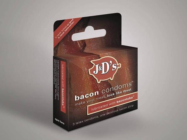 Προφυλακτικά με γεύση μπέικον κατασκεύασε αμερικανική εταιρεία