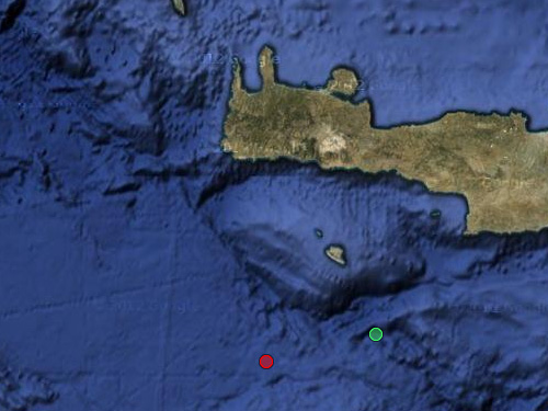 Σεισμός 3,7 Ρίχτερ Νοτιοδυτικά της Γαύδου