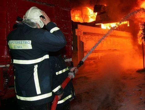 Χανιά: Φωτιά σε σπίτι στο Μάλεμε