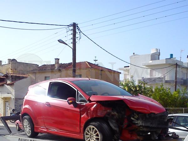 Χανιά: Δύο ατυχήματα στην Ακρωτηρίου σε διάστημα δύο ωρών (φωτο)