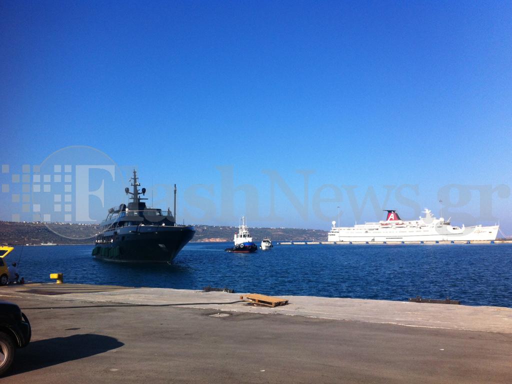 Ο Αρμάνι από την Κρήτη ολοκλήρωσε τις διακοπές στην Ελλάδα (φωτο & video)