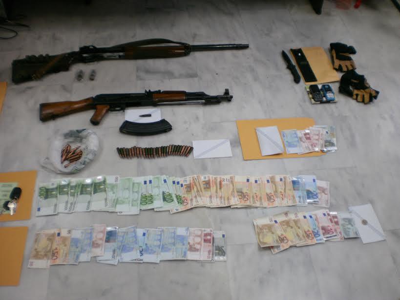 H ανακοίνωση της ΕΛ.ΑΣ για του δύο ληστές που συνέλαβαν στα Χανιά