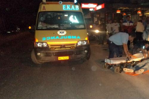 Χανιά: Τροχαίο στο δρόμο Βαντές - Παναγιά