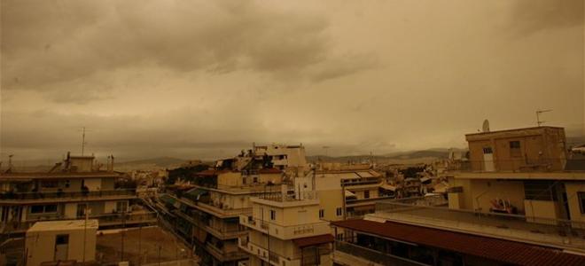 Αγριεύει ο καιρός Καταιγίδες μποφόρ και σκόνη από την Αφρική