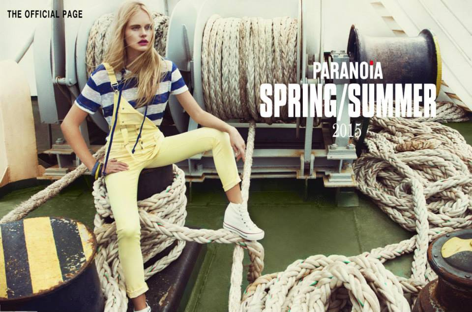 Νέα collection Paranoia Spring - summer 2015.