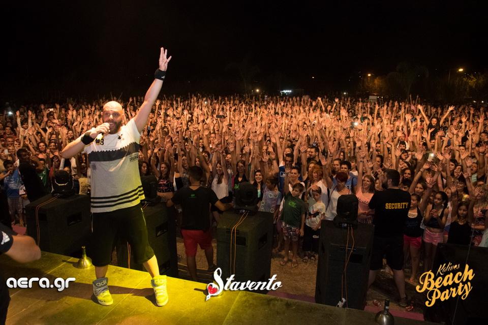 Χανιά: Με μεγάλη επιτυχία ολοκληρώθηκε το beach party στις Καλύβες (φωτο)