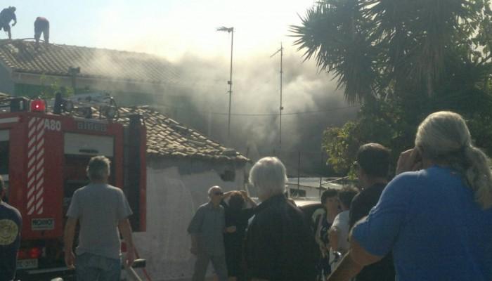 Τραγωδία στα Χανιά - Νεκρή ηλικιωμένη μετά από φωτιά στο σπίτι της