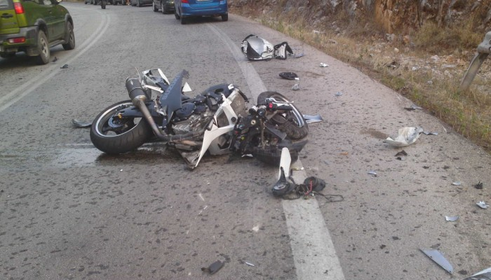Βαρύς ο φόρος αίματος για τους μοτοσικλετιστές στην Κρήτη