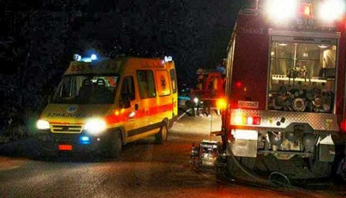 Τροχαίο ατύχημα στον κόμβο του Γαλατά στα Χανιά