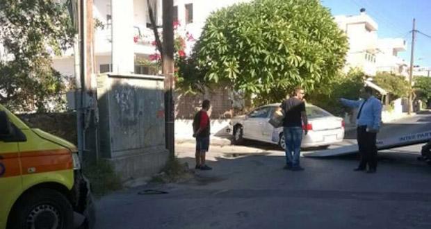 Κρήτη: Ασθενοφόρο συγκρούστηκε με αυτοκίνητο, την ώρα που μετέφερε τον ασθενή στο νοσοκομείο (Photo)