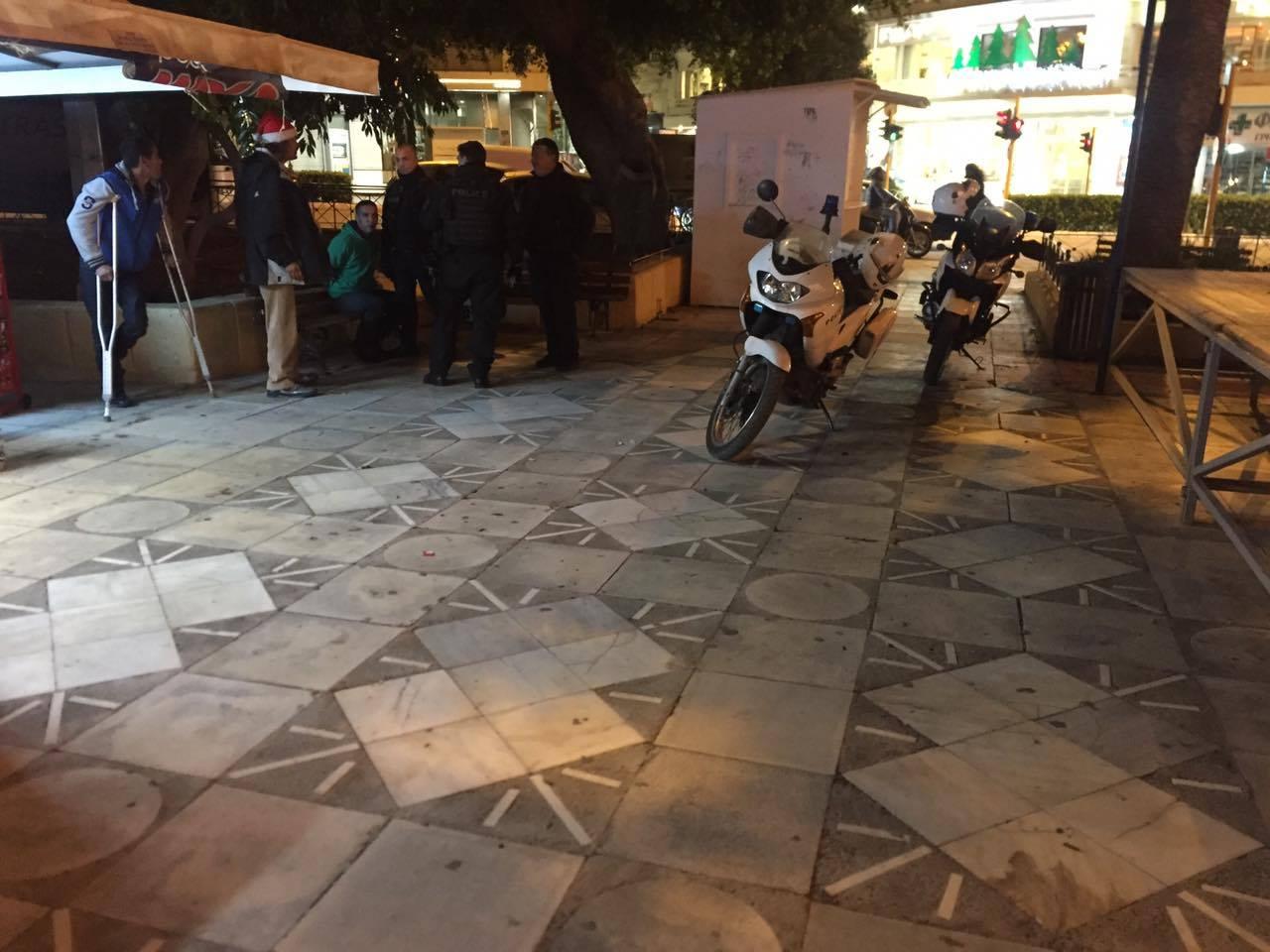 Τριτοκοσμικές καταστάσεις στο κέντρο των Χανίων μόλις νυχτώσει
