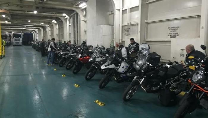 Κάθοδος μοτοσικλετιστών στα Χανιά και το Παλιό Λιμάνι (φωτο)