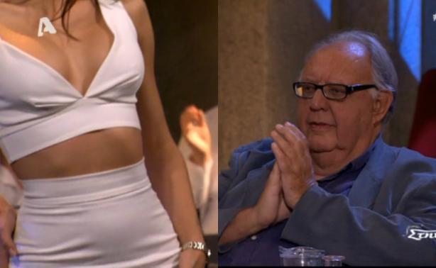 Το καυτό κορίτσι του Κώστα Σόμμερ τρέλανε τον Θεόδωρο Πάγκαλο στην εκπομπή του Σπύρου Παπαδόπουλου!