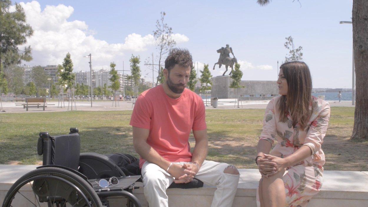O Χανιώτης παραολυμπιονίκης Αντώνης Τσαπατάκης σε μια ξεχωριστή συνέντευξη (video)