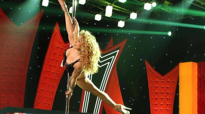 Το «εκρηκτικό» pole dancing της Κιάρα στο ΟΛΑ σε ρυθμούς Μάικλ Τζάκσον