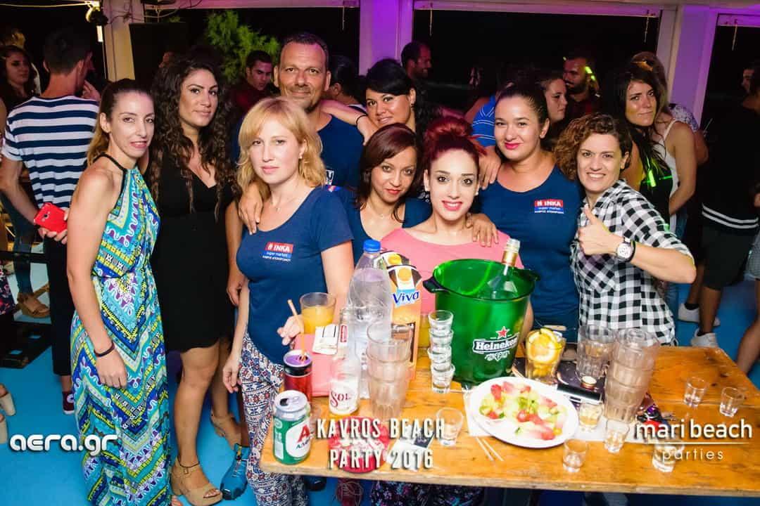 20.08.16 Kavros beach party 2016 @ mari beach