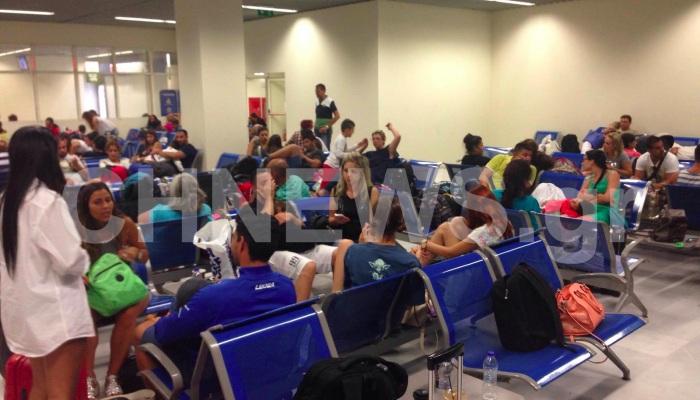Χανιά:Έμειναν εγκλωβισμένοι στο αεροδρόμιο λόγω προβλήματος στο αεροσκάφος