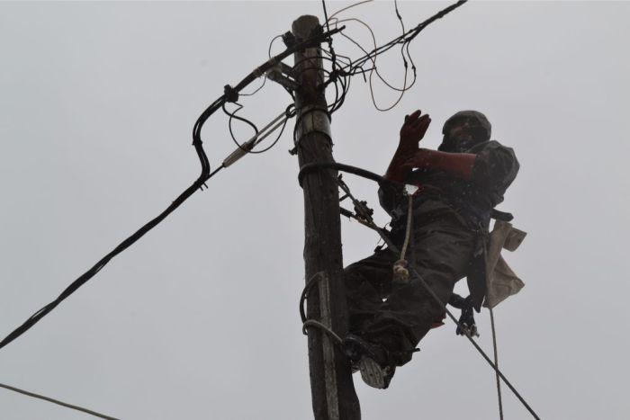 Χανιά: Προβλήματα από τη βροχή στην ηλεκτροδότηση Χωρίς ρεύμα το Φραγκοκάστελο