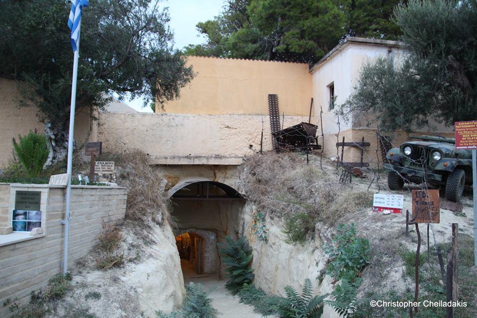 Καταφύγιο πολέμου στον Πλατανιά, έγινε μουσείο Δείτε πώς είναι μέσα (Photos)