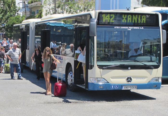 Χανιά: Νέα αύξηση στα εισιτήρια του λεωφορείου