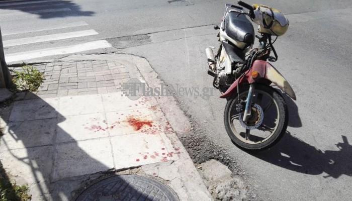 Τροχαίο ατύχημα στα Χανιά, στο... συνηθισμένο σημείο (φωτό)