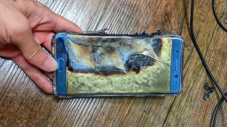 Η Samsung σταματάει προσωρινά την παραγωγή των Galaxy Note 7 λόγο ότι αναφλέγονται!