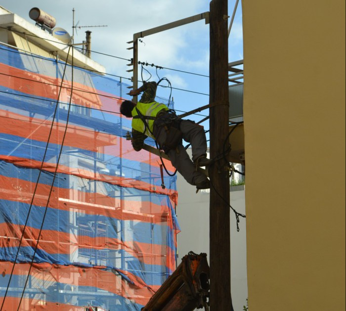 Διακοπή ρεύματος σε περιοχές του N. Xανίων λόγω εργασιών