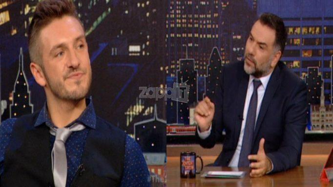 Η αντίδραση του Bradley των Stereo Soul όταν ο Αρναούτογλου αναφέρθηκε στις γυμνές φωτογραφίες και το hashtag …gay