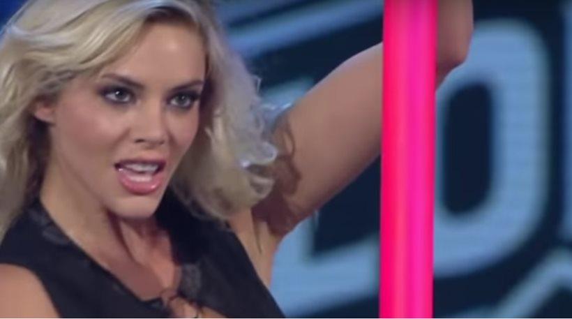 Βίντεο: To pole dancing της Ρίας Αντωνίου