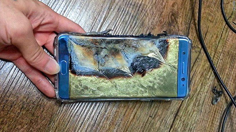 Τι πρέπει να κάνουν όσοι Έλληνες έχουν το φλεγόμενο Samsung