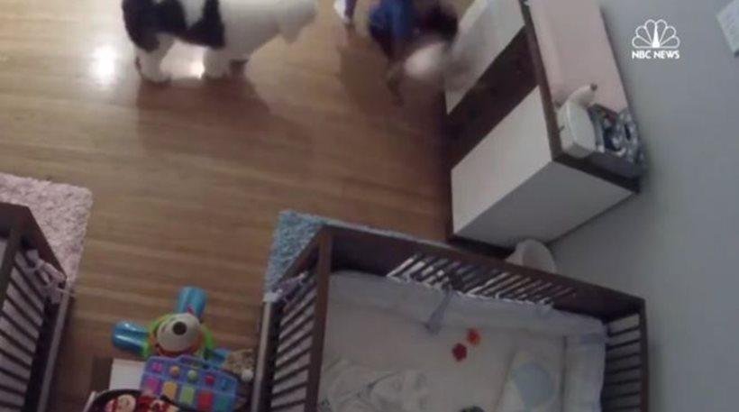 Βίντεο: Εννιάχρονος έπιασε στον αέρα τον αδερφό του που έπεφτε από την αλλαξιέρα