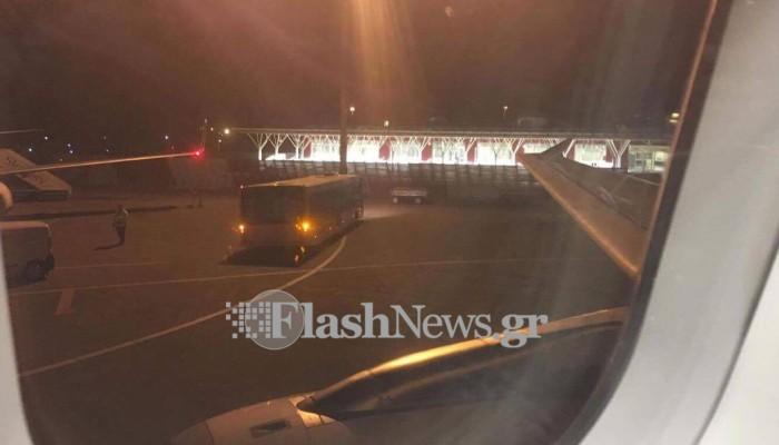 Οκτώ πτήσεις προσγειώθηκαν εκτάκτως Χανιά λόγω κακοκαιρίας!