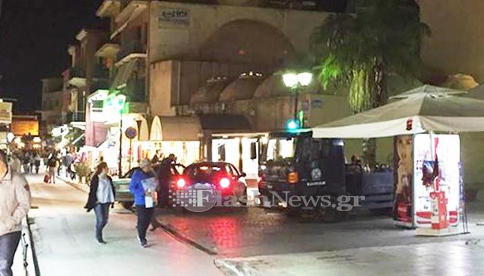 Προσοχή! Απαγορεύονται τα οχήματα στην οδό Χάληδων στα Χανιά