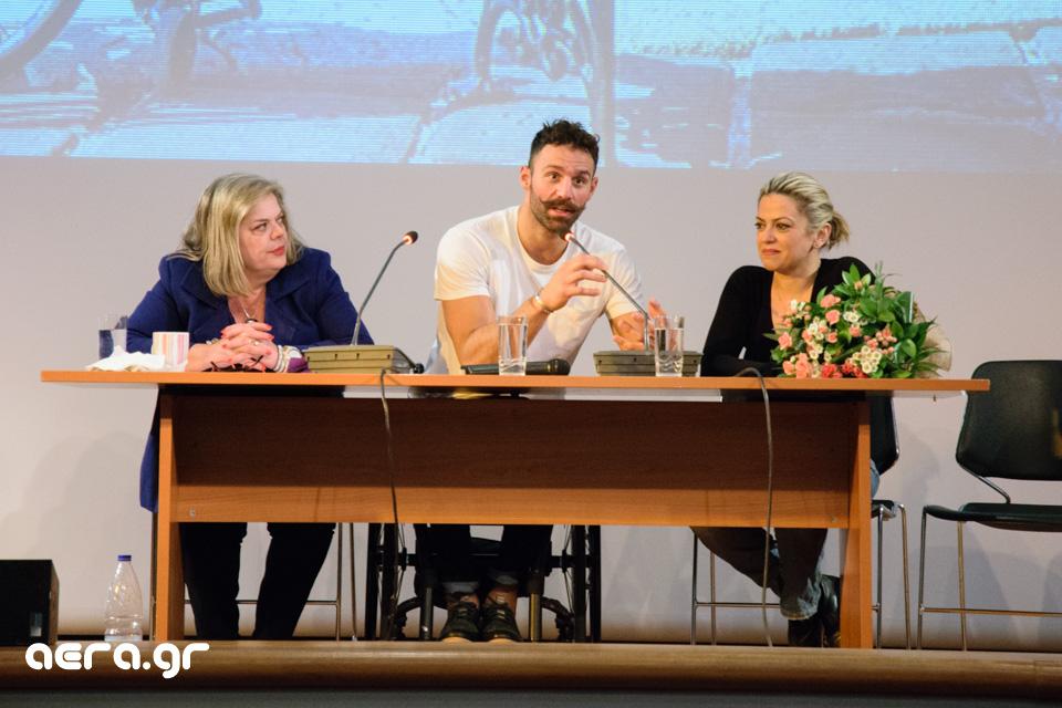 Ο Αντώνης Τσαπατάκης παρουσίασε το βιβλίο του στα Χανιά (Συνέντευξη - φωτο - video)