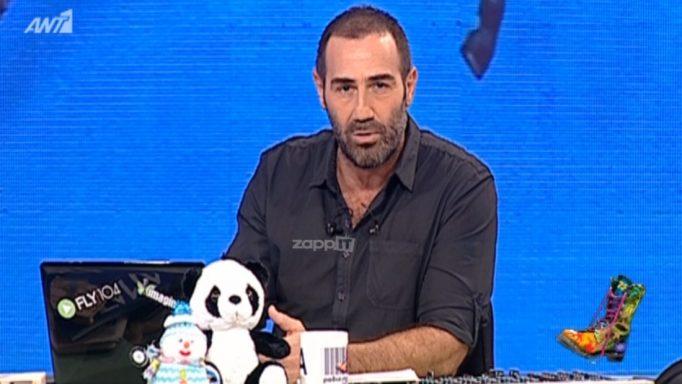 Ο Αντώνης Κανάκης δίνει τέλος στην εβδομαδιαία προβολή του Ράδιο Αρβύλα!