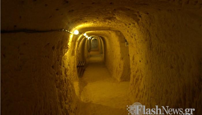Το καταφύγιο - μουσείο των Χανίων που ζωντανεύει μνήμες του '41 (φωτό)