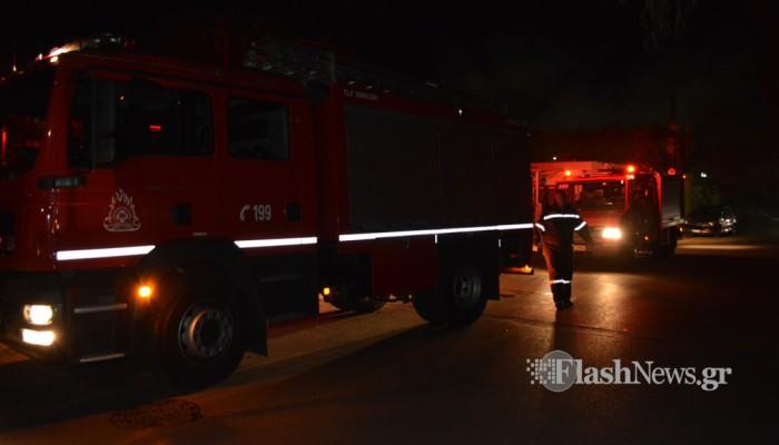 Φωτιά στο γηροκομείο Χανίων - Τραυματίστηκε ηλικιωμένος