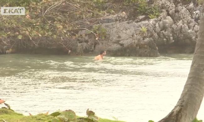 Γιώργος Χρανιώτης: Χάρισε… γυμνό θέαμα στο Survivor