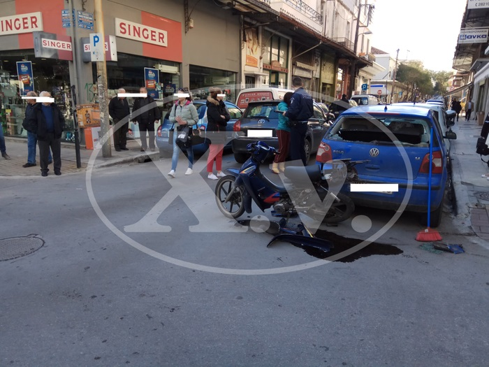 Χανιά: Τροχαίο με τραυματισμό με το καλημέρα