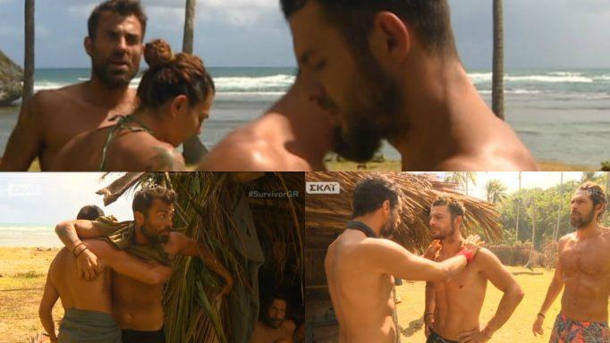 Survivor: Εκτός εαυτού ο Αγγελόπουλος με τον Χανταμπάκη! «Δεν είμαστε όλοι straight»! «Γλυκούλη»!