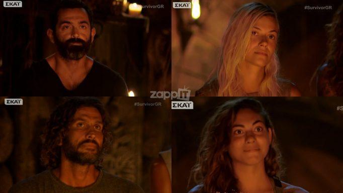 Survivor: Υποψήφιοι προς αποχώρηση Κώστας Κοκκινάκης, Λάουρα Νάργες, Μπο και Ευρυδίκη Βαλαβάνη!