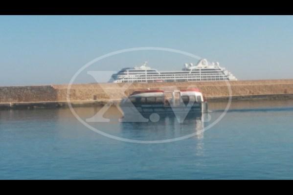 Δύο κρουαζιερόπλοια σήμερα στα Χανιά