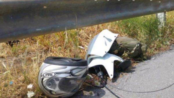 Ματωμένη Πρωτομαγιά Νεκρός μοτοσυκλετιστής σε τροχαίο (Photos)