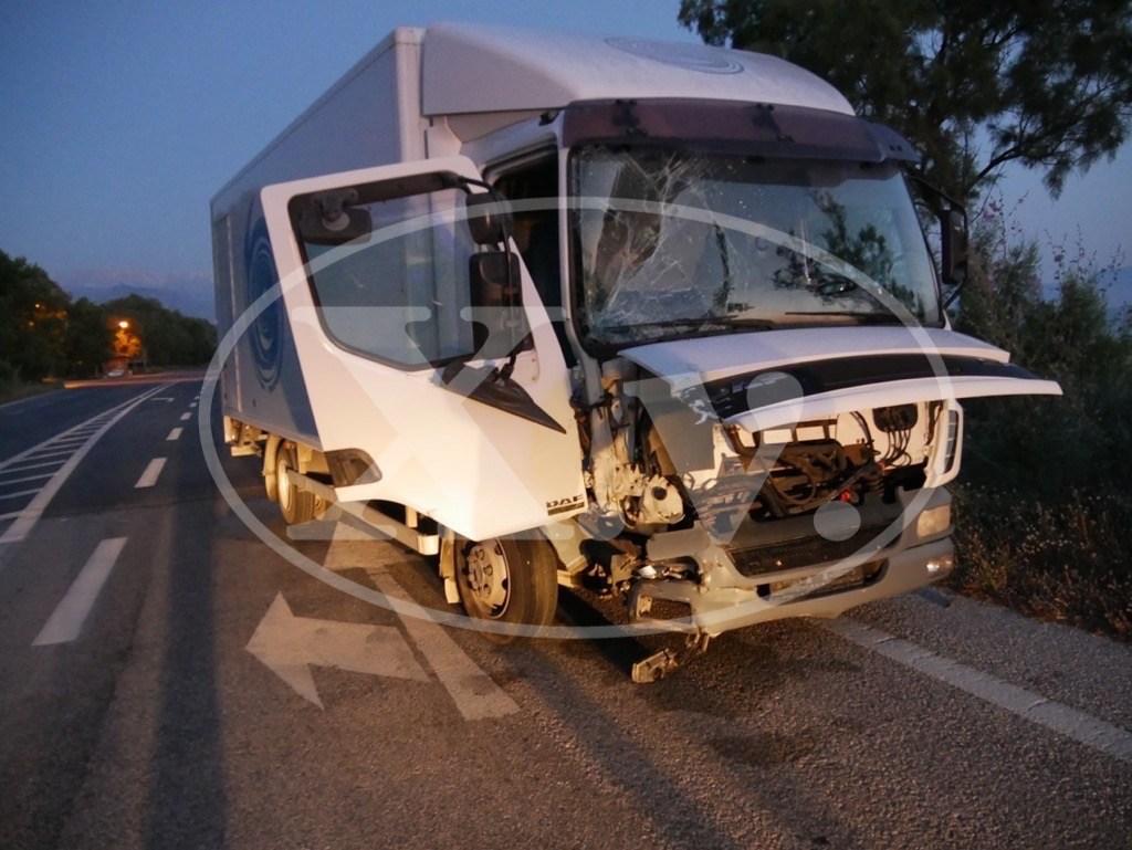 Σοβαρό τροχαίο ατύχημα με τραυματισμούς στην εθνική οδό Χανίων - Ρεθύμνου (φωτο)