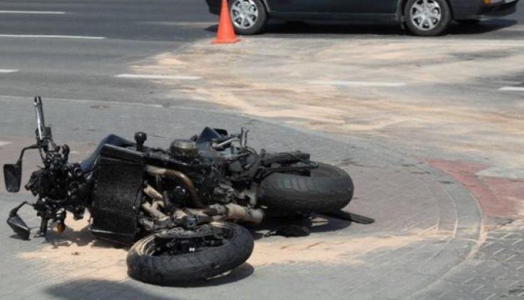Νεκρός 39χρονος μοτοσικλετιστής σε τροχαίο